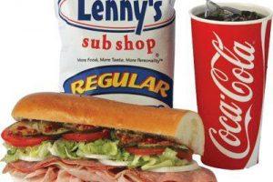 BOGO Subs at Lenny's Sub Shop