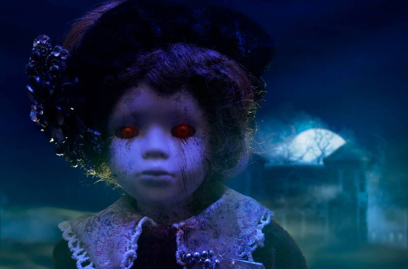 Kansas City haunted houses - horror doll