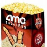 Free large popcorn at AMC Theatres