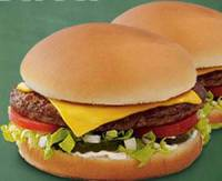 SONIC Drive-In: Jr. Deluxe Cheeseburger for 89-cents