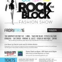 Free Admission to Rock the Block Fashion Show