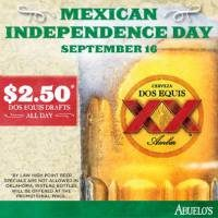 Celebrate Mexican Independence Day at Abuelo's