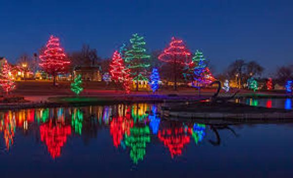 All The Trees Around Roseu0027s Pond Will Be Lit Up Nightly Through January 8,  2018. Admission: FREE