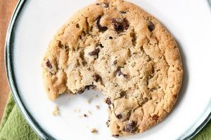 National Cookie Day Deals in Kansas City - chocolate chip cookie with a bite out of it