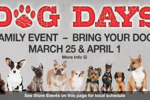 Free Dog Days Family Event at Bass Pro Shops