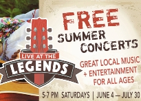 Live at the Legends Free Summer Concert Series