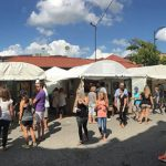 Country Club Plaza Filled with Original Creations during Plaza Art Fair