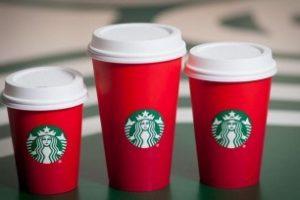 Starbucks: BOGO free holiday beverage