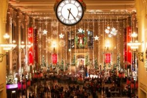Holidays at Union Station in Kansas City