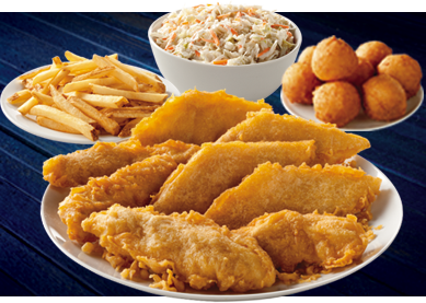 Long john silver s offers 10 chicken family pack kansas for Long john silvers fish