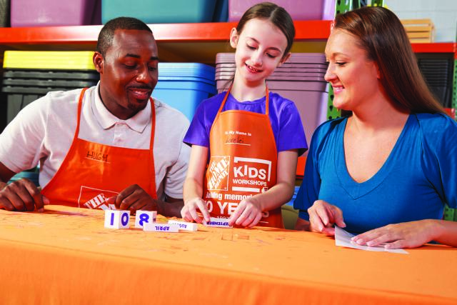 Free Workshops For Kids At Home Depot Kansas City On The Cheap