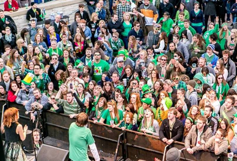 On Saturday, March 17, 2018, The Kansas City Power U0026 Light District Is  Throwing A Shamrocks U0026 Shenanigans St. Patricku0027s Day Party At KC Live!