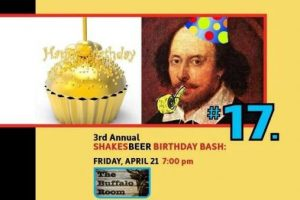 ShakesBEER Birthday Bash