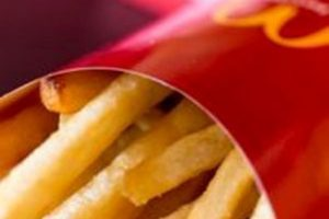 Free medium fries at McDonald's every Friday