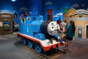 Free Thomas & Friends: Explore the Rails Exhibit at Crown Center