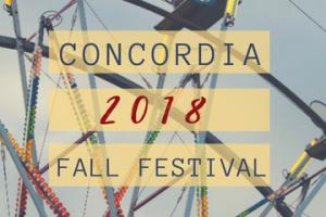 FREE Admission to Concordia Fall Festival
