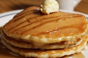 IHOP serves all-you-can-eat pancakes for $3.99