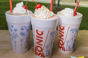 SONIC Drive-In: Free shake with cheeseburger or hot dog purchase