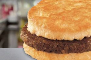 FREE Sausage Biscuit Day at Hardee's