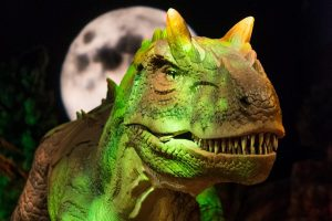 Dinosaurs Revealed at Union Station