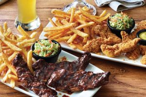 Applebee's: All-you-can-eat riblets & chicken tenders for $12.99
