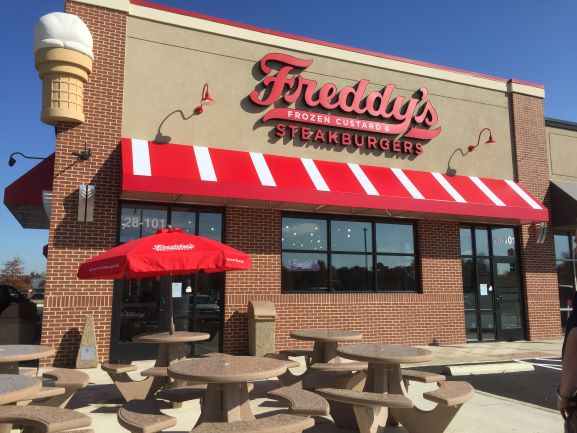 Freddy's Frozen Custard & Steakburger storefront