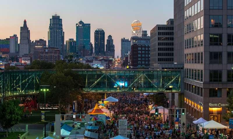 Kansas City Fall Festivals - skyline of downtown Kansas City