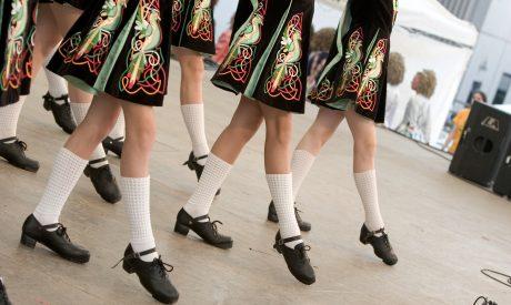 Kansas City Fall Festivals - Irish dancers performing