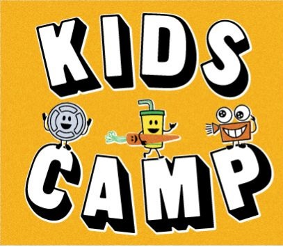 Alamo Drafthouse kids camp logo