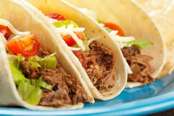 Kansas City National TAco day specials - three beef tacos