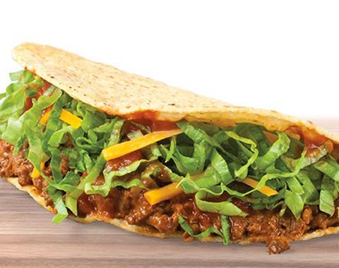 Taco John's crispy beef taco