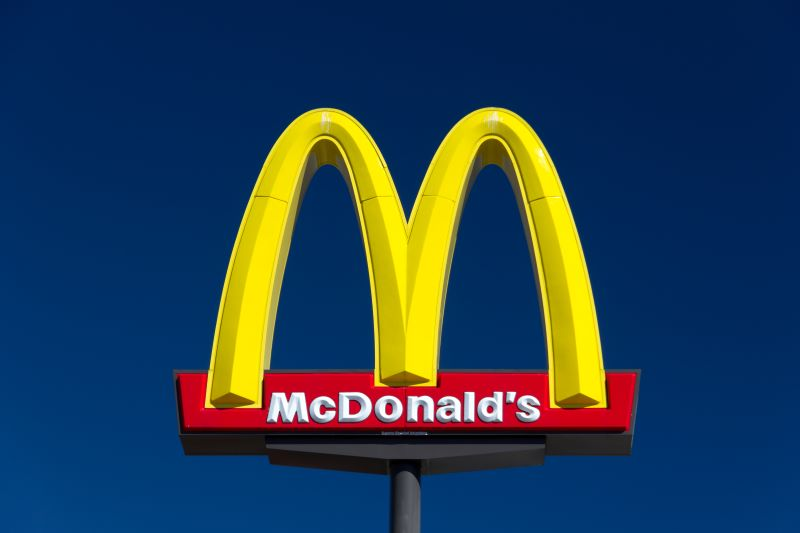 McDonald's Buy-one-get-one $1 deal - McDonald's golden arches sign