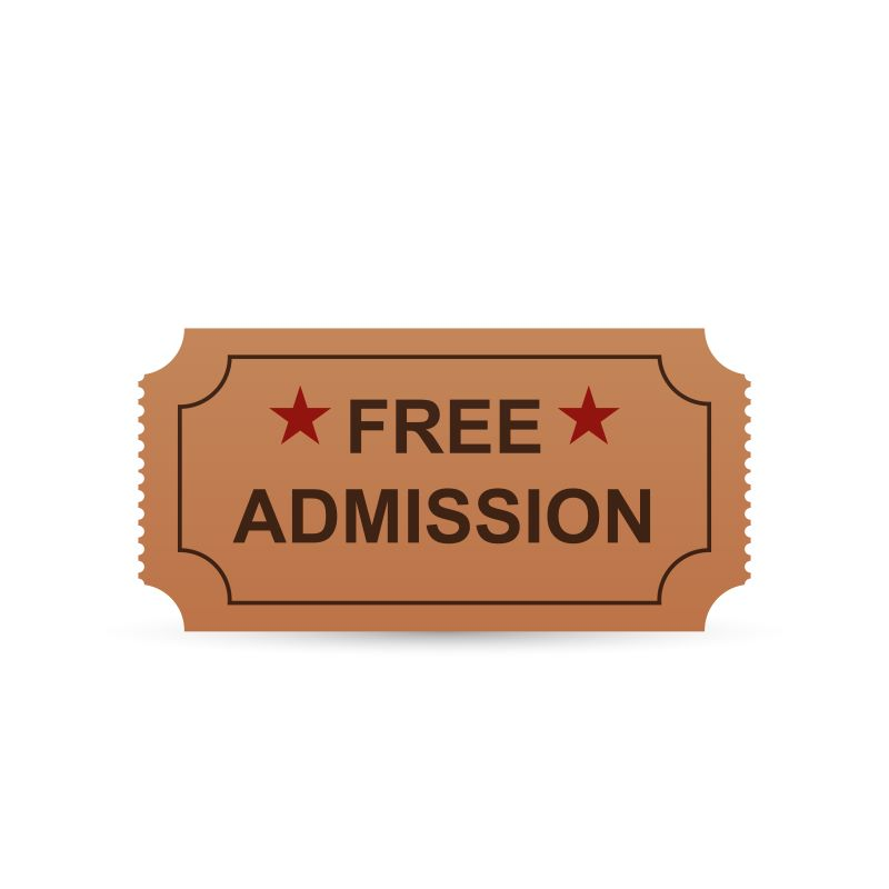 Smithsonian Museum Day - admission ticket graphic