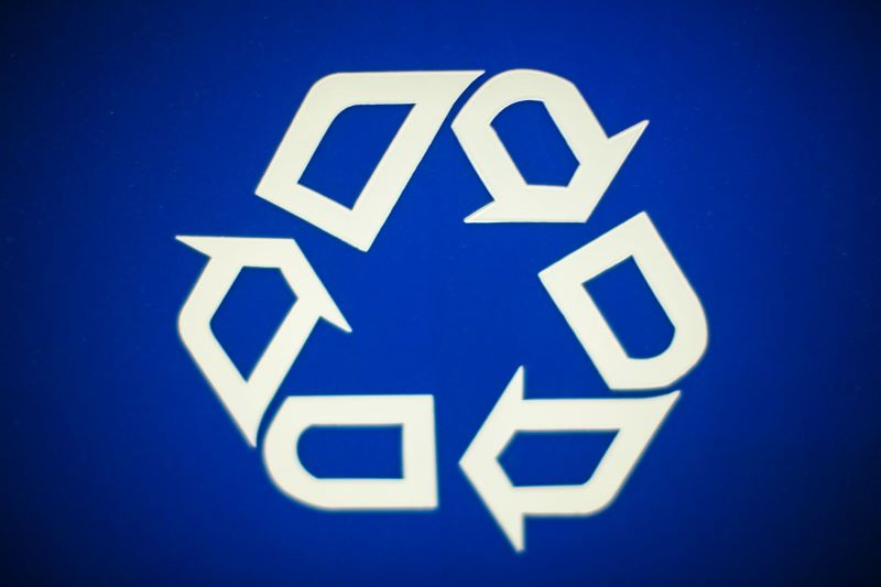 Overland Park Recycling Extravaganza - arrow recycling symbol