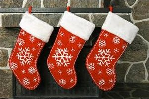 Kansas City Holiday Markets, Bazaars and Craft Fairs - 3 stockings hanging from a fireplace