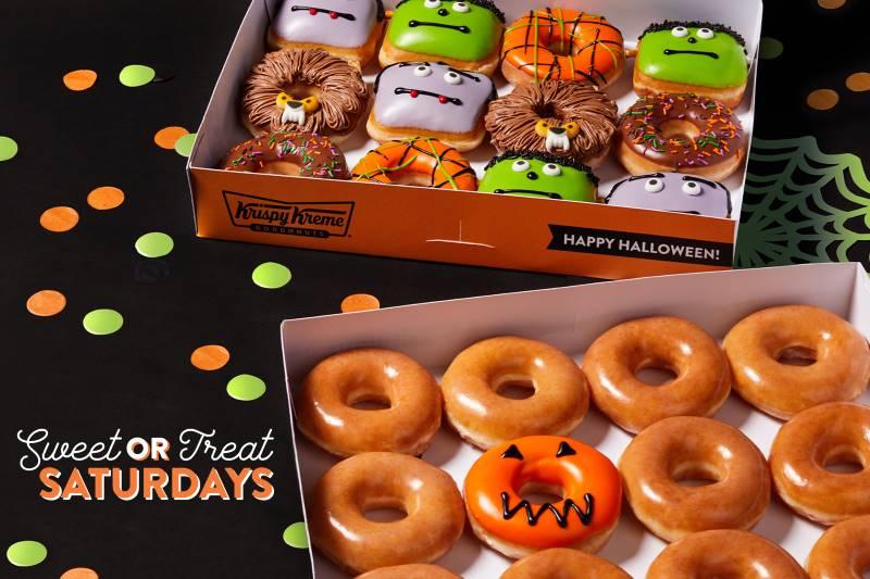 Kansas City Halloween Treats - Krispy Kreme monster donuts