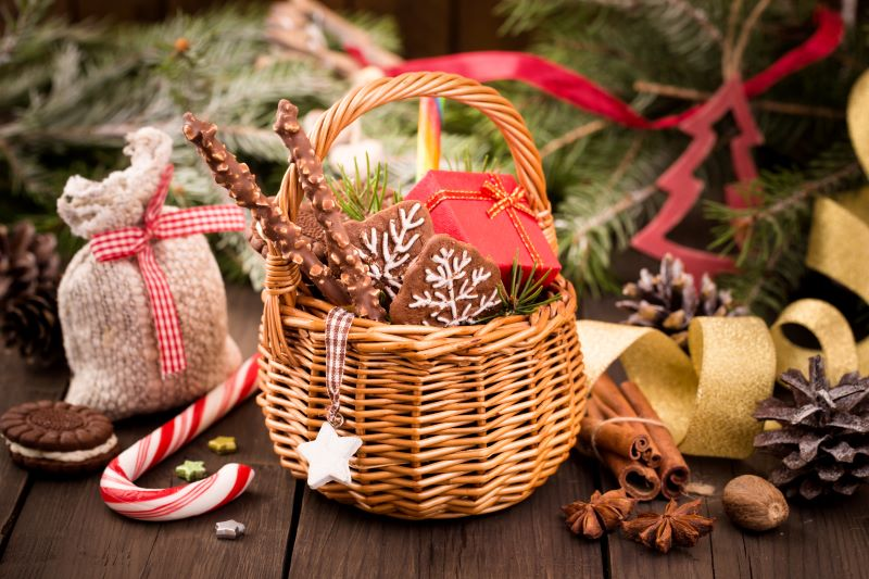 The Roasterie Holiday Makers Markets - gift basket