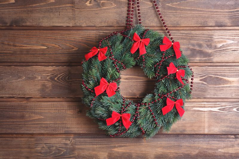 Kansas City Holiday Markets, Bazaars and Craft Fairs- rustic Christmas wreath