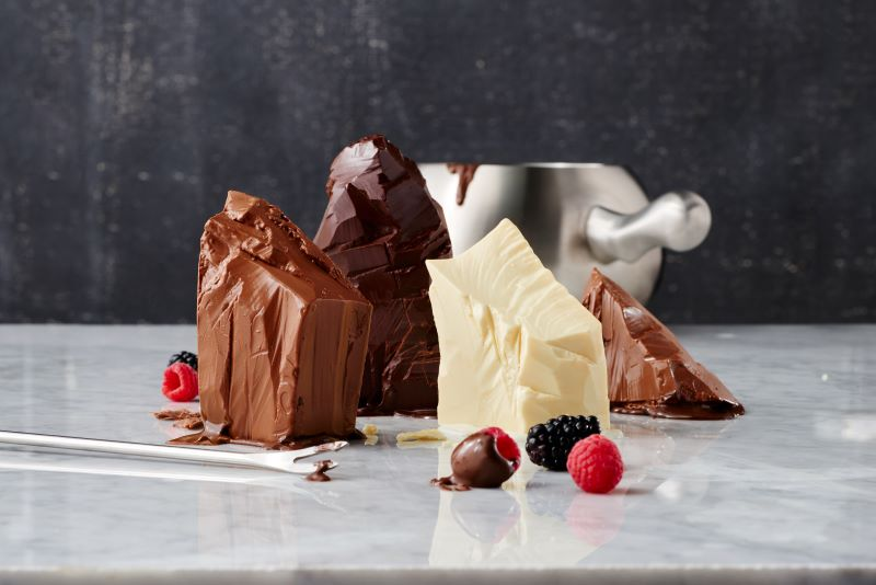 Melting Pot Holiday Offers and Special Events - chocolate fondue set up