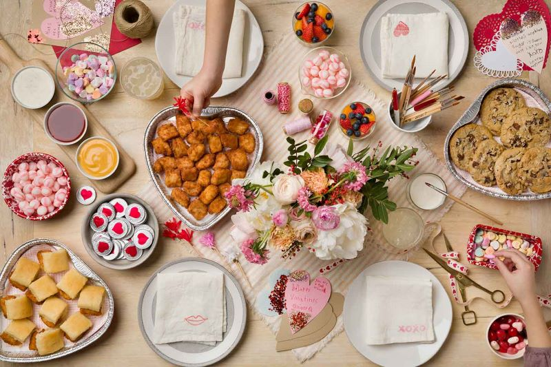 Valentine's specials in Kansas City - Chick-fil-a chicken nuggets and minis