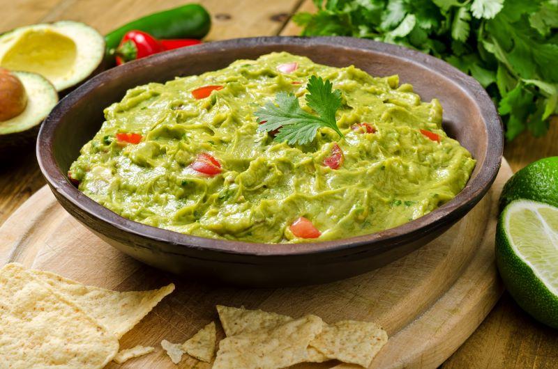 Kansas City Super Bowl Food Deals - bowl of guacamole