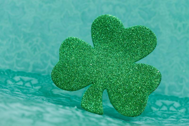 Kansas City St. Patrick's Day Events - green shamrock