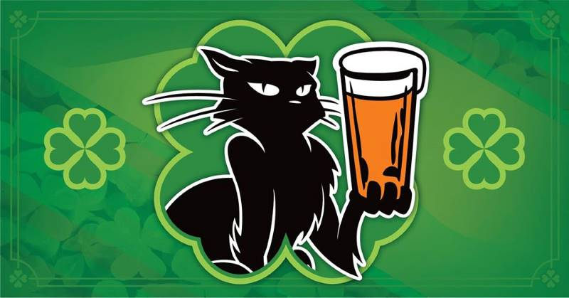 Kansas City St. Patrick's Day Events - HopCat KC holding a beer