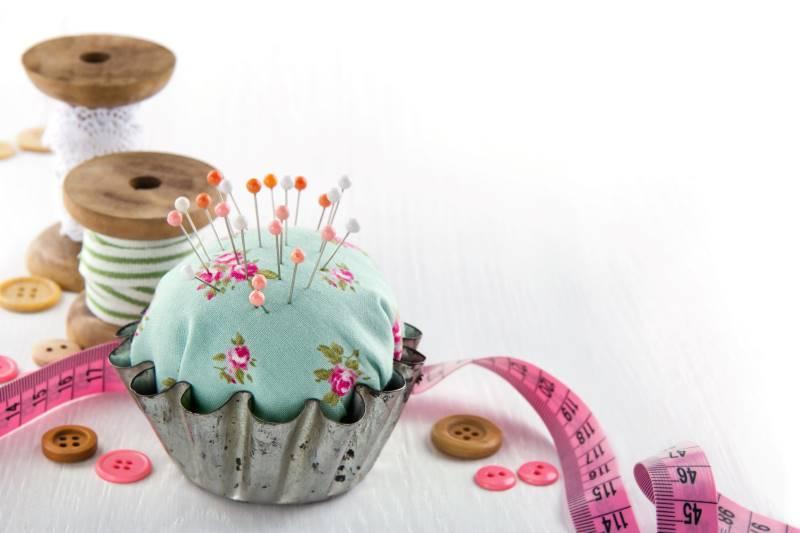 Kansas City spring festivals - handmade pincushion