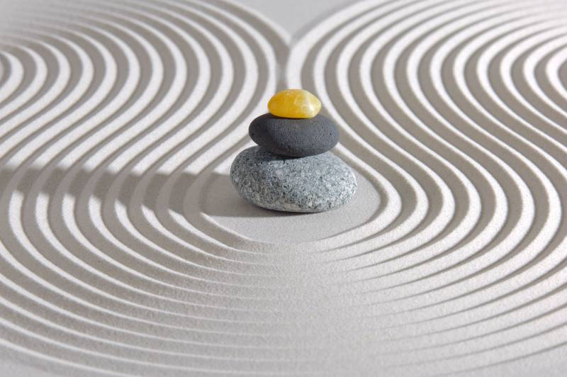 Free resources in Kansas City - Japanese zen garden