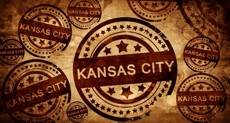 Virtual Concerts by Kansas City Musicians - vintage Kansas City stamp