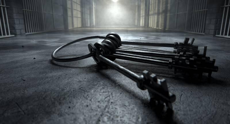 Kansas City halloween events - jail cell keys