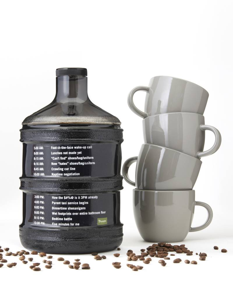 National Coffee Day Deals in Kansas City - Panera oversized coffee jug