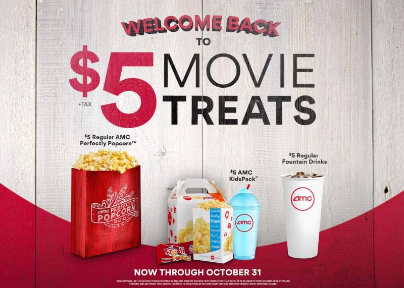 AMC Theatre movie discounts