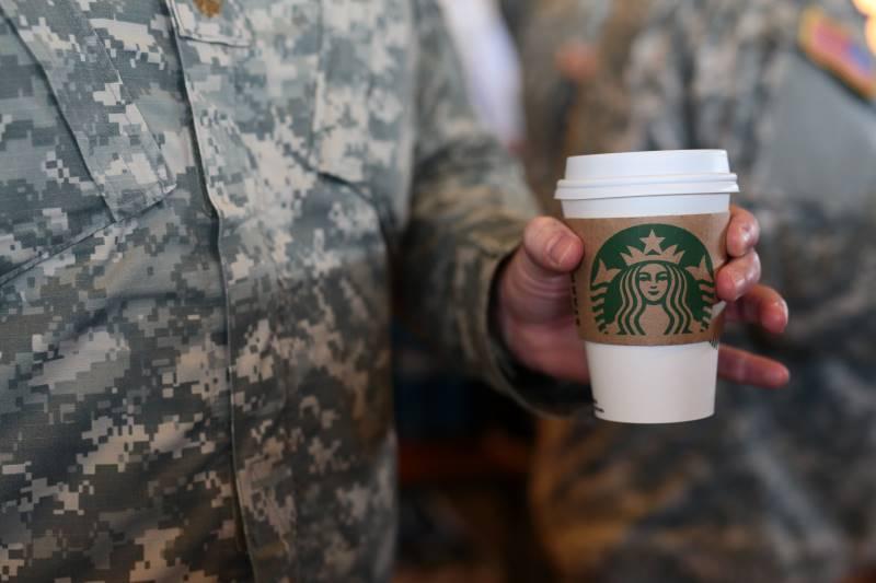 Kansas City Veterans Day Deals - Starbucks coffee